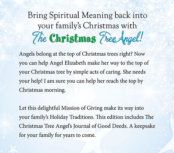 the christmas tree angel